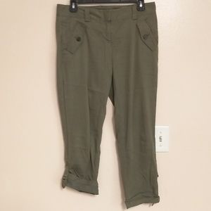 Ann Taylor roll-up ankle pants